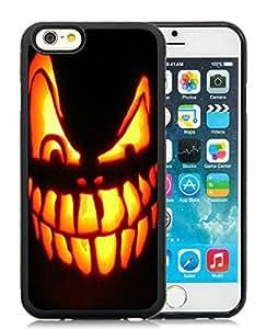 linJUN FENGBest Buy Design iPhone 6 Case,Halloween Pumpkin Black iPhone 6 4.7 Inch TPU Case 2