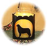 PupLife Bernese Mountain Dog Breed Jar Candle Holder