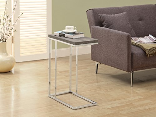 monarch-reclaimed-look-chrome-metal-accent-table-2375-inch-dark-taupe