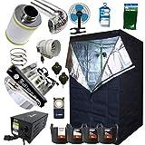 Best Complete Grow Room Full Setup 1.2 x 1.2 x 2m Grow Tent 5' In-Line...