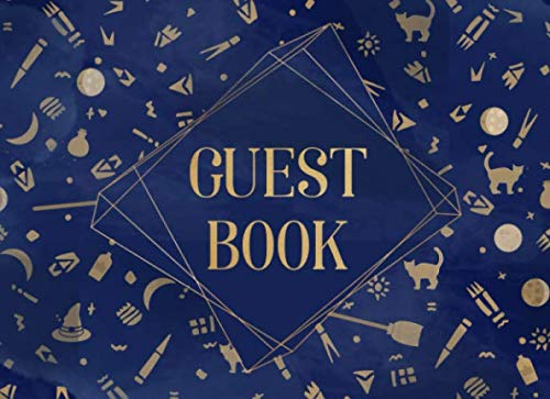 Guest Book: Magic Symbols and Witchcraft | For themed costume parties and seasonal celebrations | 250 guests and their messages