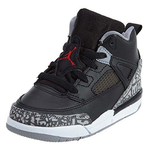 Pre Scuola Nike Air Jordan Spizike Bp Nero Cemento Nero / Bianco / Rosso Nero / Varsity Rosso Cemento Grigio