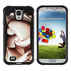 Suave TPU GEL Carcasa Funda Silicona Blando Estuche Caso de protección (para) Samsung Galaxy S4 IV I9500 / CECELL Phone case / / Petals Light Pink Close Up Blossom /