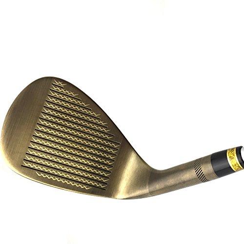 Japan Wazaki Copper Finish M Pro Forged Soft Iron USGA R A rules of Golf Club Wedge Set(pack of three) by wazaki (Image #5)