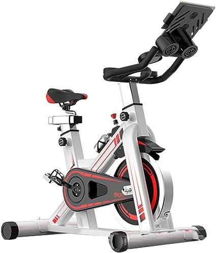 Bicicleta Estática de Fitness, Bici Spinning Bicicleta Fitness con Consola y Sensores de Pulso en Manillar,Capacidad Máxima de Carga 150 (kg) Pantalla LED Tiempo Calorías Velocidad Ritmo: Amazon.es: Deportes y aire libre