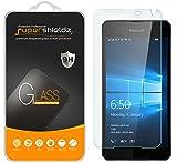 Lumia 650 Best Deals - [2-Pack] Microsoft Lumia 650 Tempered Glass Screen Protector, Supershieldz Anti-Scratch, Anti-Fingerprint, Bubble Free, Lifetime Replacement Warranty