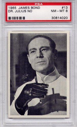 1965 James Bond - Dr. Julius No #13 PSA 8 NM-MT (Graded Non-Sports Cards) from James Bond