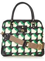 Orla Kiely Textured Vinyl Small Jeanie Top Handle Bag