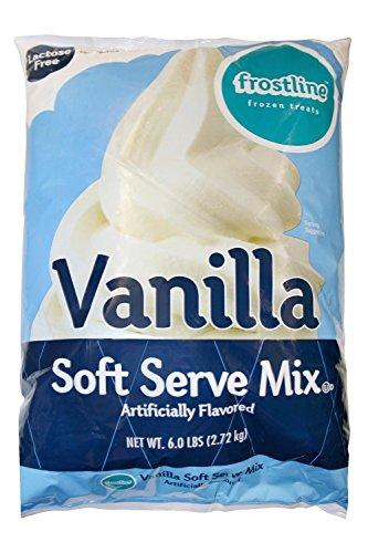 Frostline Vanilla Soft Serve Ice Cream Mix (Large 6 Pound Bag) (Ice Cream Ice Cream compare prices)