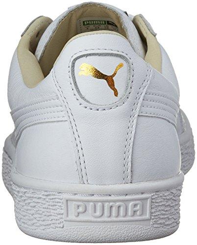 Bianco Unisex Classic Basket Lfs Sneaker Puma Adulto Y7Iqn