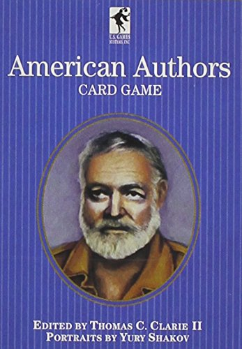 American Authors Card Game (Authors & More) PDF