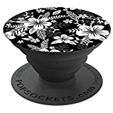 PopSockets: Collapsible Grip & Stand for Phones and Tablets - Hawaiian Black