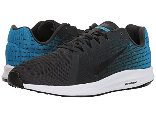 NIKE Anthracite Homme Sneakers Multicolore 001 Downshifter Black Basses Blue 8 White Equator 4axwC47qr