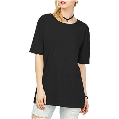 6d906d950eb Amazon.com  Women s Plus-Size Short-Sleeve T-Shirt Boyfriend Tee  Clothing