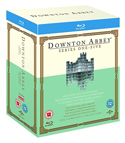 Downton Abbey - Complete Collection (Series 1-5) - 16-Disc Box Set ( Downton Abbey - Series One - Five ) [ NON-USA FORMAT, Blu-Ray, Reg.B Import - United Kingdom ]