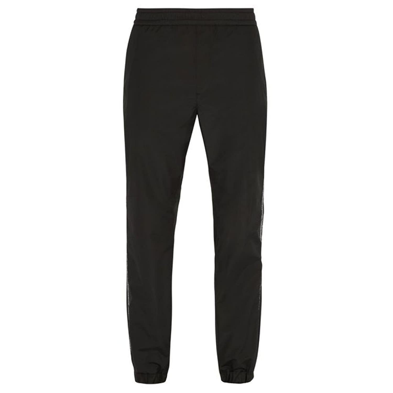 (ヴェルサーチ) Versace メンズ ボトムスパンツ スウェットジャージ Logo-embroidered track pants [並行輸入品] B07FCYP4XV 46EU-IT