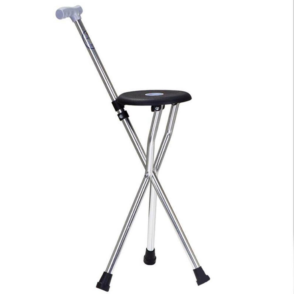 WW Crutch Chair Aluminum Alloy Non-Slip Rubber Lightweight Walking Aid Medical Care Elderly Crutch