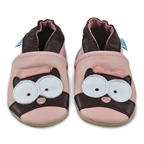 acbb075b7f152 Beautiful Soft Leather Baby Shoes - Crib Shoes with Suede - Import ...