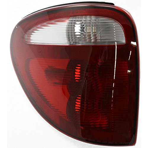 Evan-Fischer EVA15672022275 Tail Light for Chrysler Town and Country 01-03 Lens and Housing Left Side
