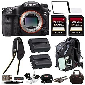 "Sony a99II 42.4MP Digital SLR Camera with 3"" LCD, Black (ILCA99M2) Bundle"