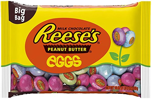 (Reese's Milk Chocolate and Peanut Butter Mini Eggs Big Bag-18 oz)
