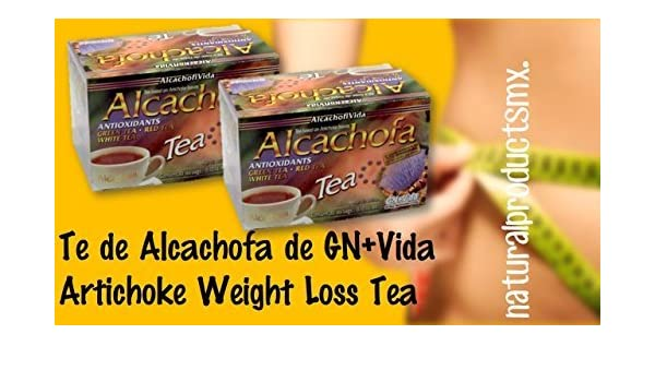 Amazon.com: 2 cajas Te De Alcachofa to Help You Lose Weight Naturally Artichoke Weight Loss Tea 2 boxes by GN+Vida: Health & Personal Care