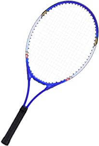 Blue SOONHUA Professional Tennis Racket Tennis Racket Cover Aluminium Alloy with Carry Bag for Adult Kids Beginners