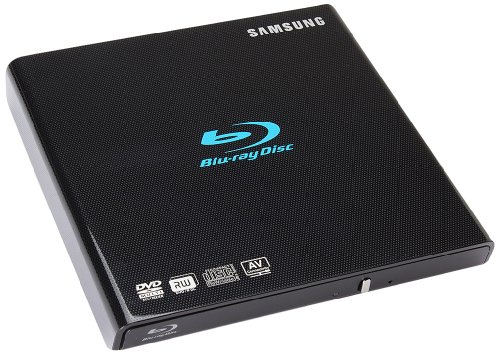 Samsung SE-506BB/TSBD 6X USB2.0 External Slim Blu-ray Writer Drive (Black)