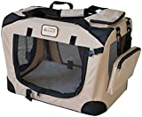 Armarkat PC201B Beige Multiple Pockets Pet Carrier