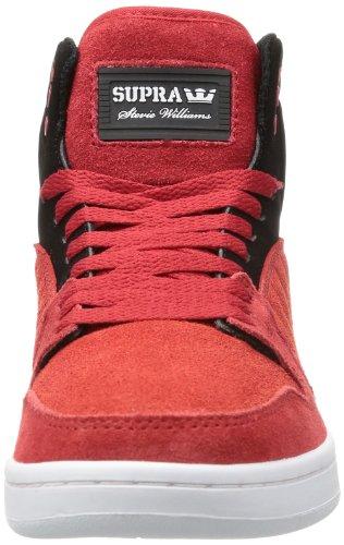 Supra S1W - Altas de cuero hombre rojo - Rot (ATHLETIC RED / BLACK - WHITE ARK)