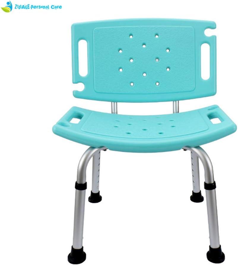 調節可能なシャワーチェアバスシート安全アルミスツールシーティングトイレバスルームチェア子供ベッド用高齢者
