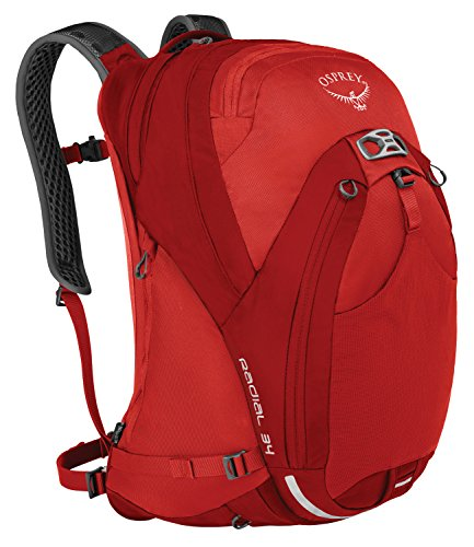 Osprey Packs Radial 34 Daypack, Lava Red, Medium/Large