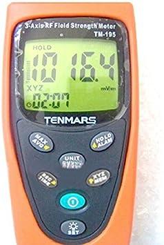 TM-195 3-Axis EMF RF Alta Frecuencia Medidor de intensidad ...