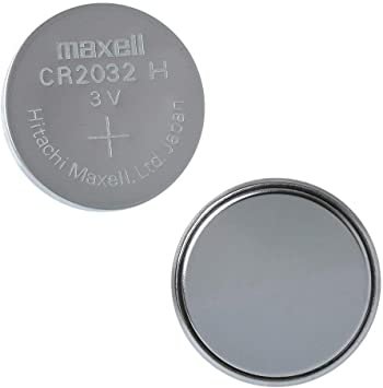 Oferta amazon: Maxell 19040805 Pila Boton Litio CR-2032 (Blister 5 Pilas)