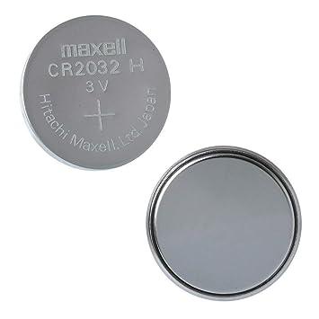 Maxell 19040805 Pila Boton Litio CR-2032 (Blister 5 Pilas)