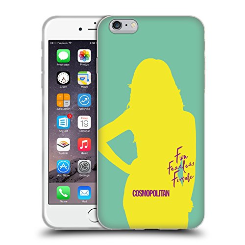 Official Cosmopolitan Cover Girl 5 Fun Fearless Female Soft Gel Case for Apple iPhone 6 Plus / 6s Plus