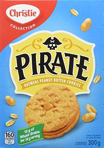 Pirate Oatmeal Peanut Butter Cookies - 350g ()