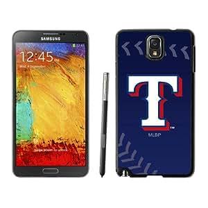 Texas Rangers Black Fashion Customize Design Samsung Galaxy Note 3 N900A N900V N900P N900T Phone Case