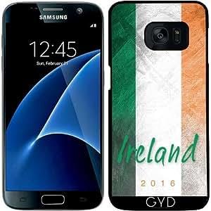 Funda para Samsung Galaxy S7 - Bandera De Irlanda by Julien Kaltnecker