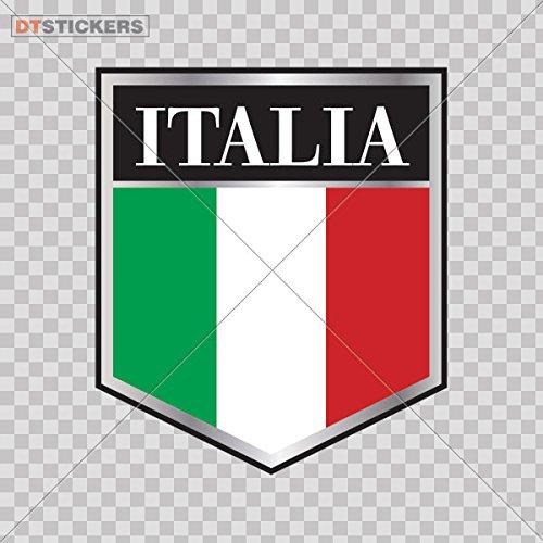 - Vinyl Stickers Decal Italian Logo Macbook, For Helmet waterproof (5 X 4,32 In. ) Fully Waterproof Printed vinyl sticker