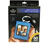 USB Digital Photo Keychain - Blue