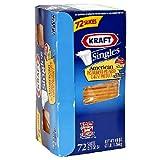Kraft Cheese Singles, American, 72 Slices, 3 lb