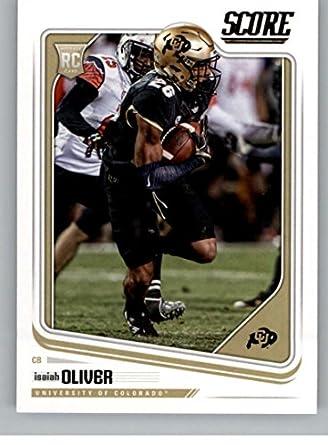 super popular 685db 7cfde Amazon.com: Football NFL 2018 Score #334 Isaiah Oliver #334 ...