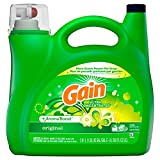 Gain High Efficiency Original Liquid Laundry Detergent, 146 Loads , Green