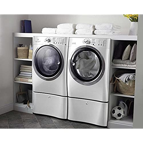 Electrolux Laundry Pair System Bundle High Efficiency Front Load Laundry  Pair With ELECTRIC Dryer, And Steam *Plus* Matching Storage ...