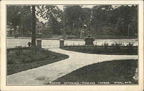North Entrance, Highland Common Athol, Massachusetts Original Vintage