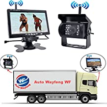 "Auto Wayfeng WF® Factory Selling New Wireless Car Monitor 7"" Digital Color TFT 16:9 LCD Car Reverse Monitor with Bracket Holder for Rearview Camera for Bus Trcuk Van Trailer RV"