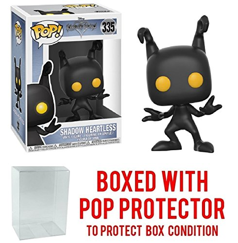 Funko Pop! Disney: Kingdom Hearts - Shadow Heartless Vinyl Figure (Bundled with Pop BOX PROTECTOR CASE)
