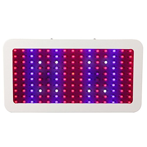 Lightess 1500w Double Chips LED Grow Light Full Specturm for Greenhouse and Indoor Plant Flowering Growing
