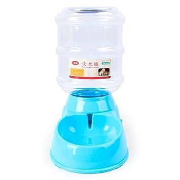 3.5L Bebederos Mascota Perro Gato Agua Automática Dispensador Dispositivo Botella: Amazon.es: Jardín